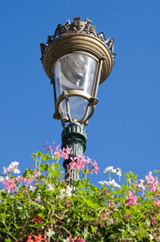 bronze outdoor lighting