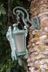 copper outdoor lighting