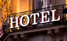 Hotel Sign Luminous letter
