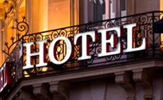 Hotel Sign Luminous letter