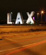 LAX Externally Lit Sign