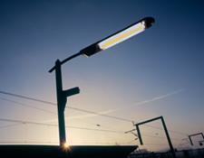 outdoor fluorescent street light