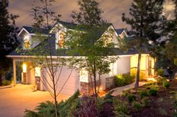 Outdoor Garage Lighting makes better use of your driveway while ...