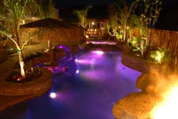 outdoor pool lighting2