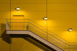 Incorporate Outdoor Stair Lighting for easy traffic flow and safety