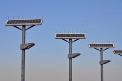 solar outdoor security lighting
