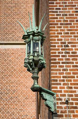 tarnished brass outdoor lighting