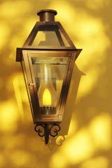 brass outdoor lighting