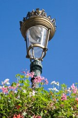 bronze outdoor lighting