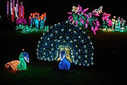 Outdoor LED Lighting Characters