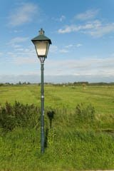 outdoor lighting poles